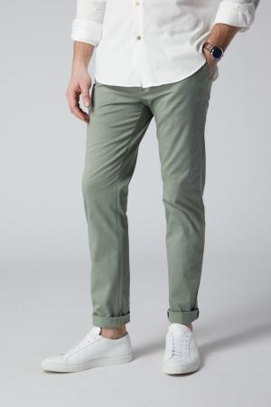 Pantaloni chino bumbac barbati SPOKE SHARP Lightweights vernil [0]