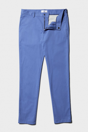 Pantaloni chino bumbac barbati SPOKE SHARP Lightweights albastri [7]