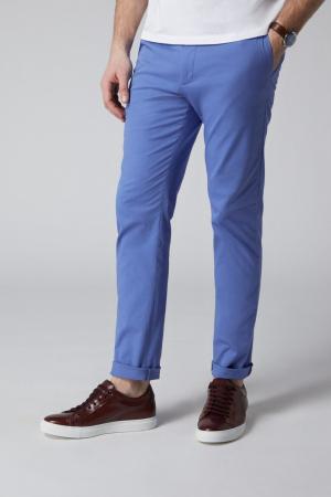 Pantaloni chino bumbac barbati SPOKE SHARP Lightweights albastri [0]