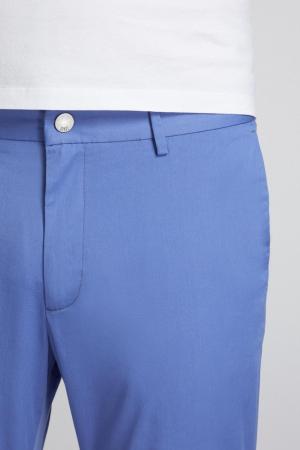 Pantaloni chino bumbac barbati SPOKE SHARP Lightweights albastri [3]