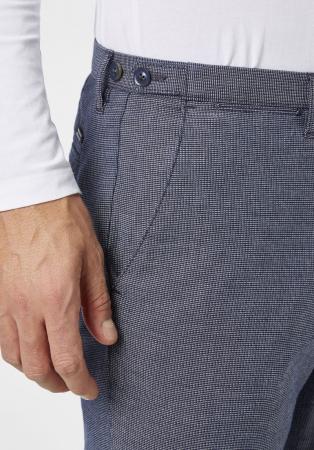 Pantaloni chino barbati REDPOINT Belleville albastri [2]