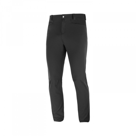 Pantaloni drumetie barbati SALOMON WAYFARER TAPERED negru [0]
