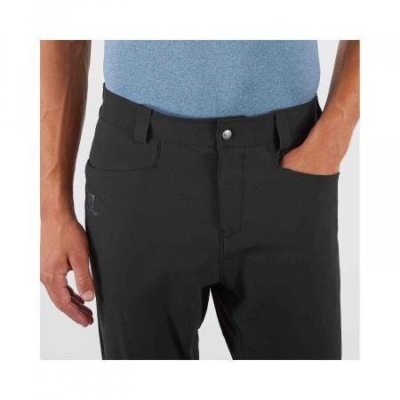 Pantaloni drumetie barbati SALOMON WAYFARER TAPERED negru [7]