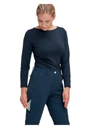 Pantaloni drumetie femei MAMMUT Runbold bleumarin [1]