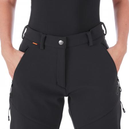 Pantaloni femei MAMMUT Winter Hiking SO black [0]