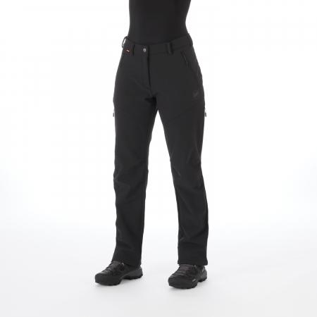 Pantaloni femei MAMMUT Winter Hiking SO black [3]