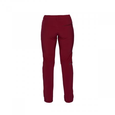 Pantaloni femei strong-softshell 3L trekking NORTHFINDER Simetria cerise [1]