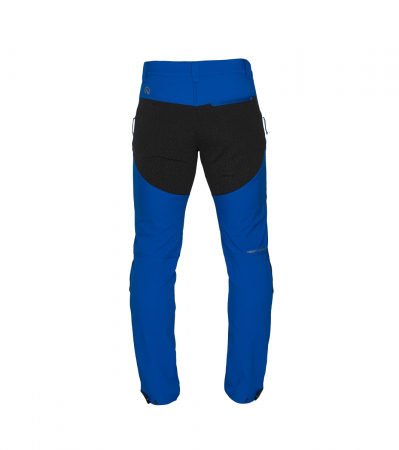 Pantaloni lungi barbati Stretch SoftShell 3L trekking NORTHFINDER Serdz albastri [1]