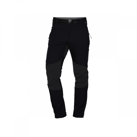 Pantaloni lungi barbati Stretch SoftShell 3L trekking NORTHFINDER Serdz negri [0]
