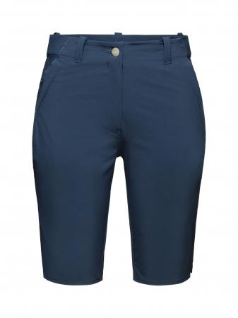 Pantaloni scurti drumetie femei MAMMUT Runbold bleumarin [0]