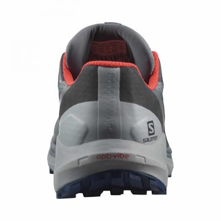 Pantofi alergare barbati SALOMON SENSE RIDE 4 INVISIBLE GTX gri [4]