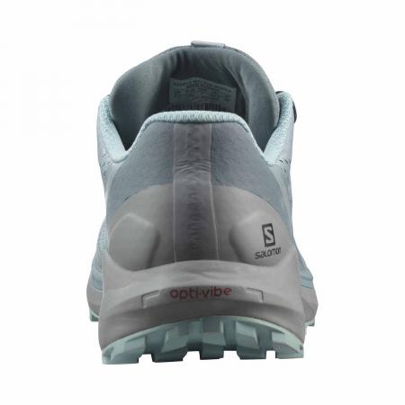 Pantofi alergare femei SALOMON SENSE RIDE 4 INVISIBLE W GTX gri [6]