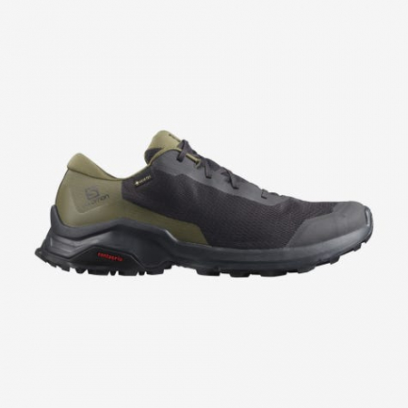 Pantofi drumetie barbati SALOMON X REVEAL GTX Phantm/Burnt Olive/Black [0]