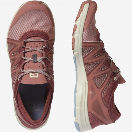 Pantofi outdoor femei SALOMON Crossamphibian Swift2 caramiziu [6]