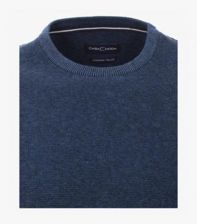 Pulover O Neck CASA MODA albastru [2]