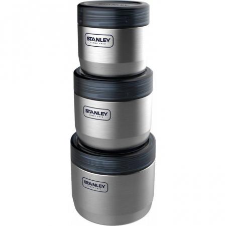 Set caserole inox STANLEY Adventure 410+650+950 ml ST10-02108-002 [1]
