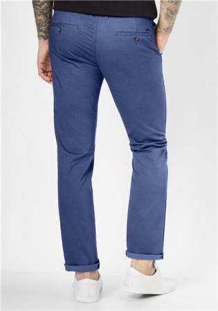 Pantaloni chino barbati REDPOINT Jasper 6182 albastri [1]