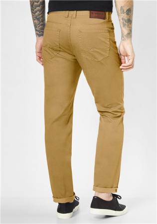 Pantaloni barbati 5 buzunare REDPOINT Milton 6182 galbeni [1]