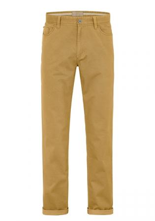 Pantaloni barbati 5 buzunare REDPOINT Milton 6182 galbeni [3]