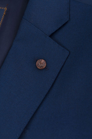 Sacou elegant LAVARD Travel albastru mix&match (864) [4]