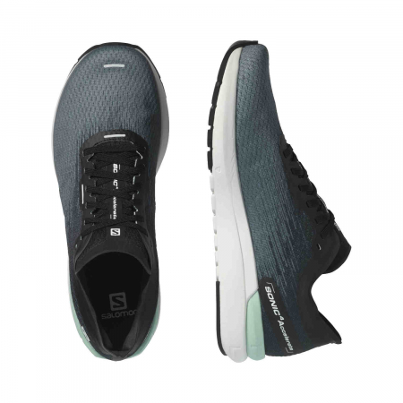 Pantofi alergare barbati SALOMON SONIC 4 Accelerate gri [2]