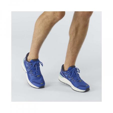 Pantofi alergare barbati SALOMON SONIC 4 Confidence albastru [2]
