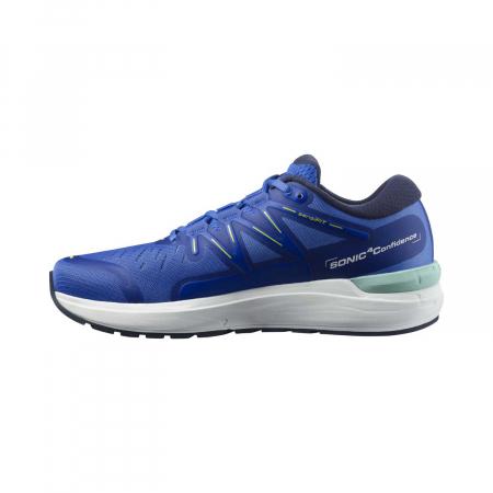 Pantofi alergare barbati SALOMON SONIC 4 Confidence albastru [6]