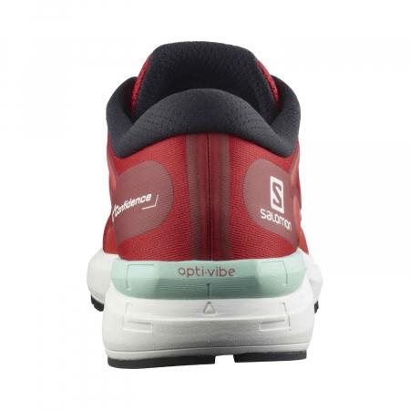 Pantofi alergare barbati SALOMON SONIC 4 Confidence rosu [3]