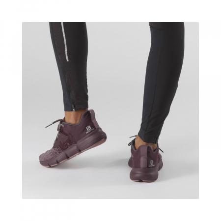 Pantofi alergare femei SALOMON PREDICT SOC W mov [2]