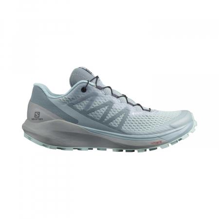 Pantofi alergare femei SALOMON SENSE RIDE 4 INVISIBLE W GTX gri [0]