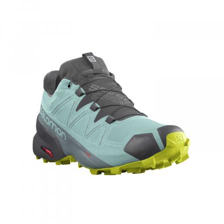 Pantofi alergare femei SALOMON SPEEDCROSS 5 GTX W vernil [1]