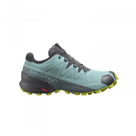 Pantofi alergare femei SALOMON SPEEDCROSS 5 GTX W vernil [0]