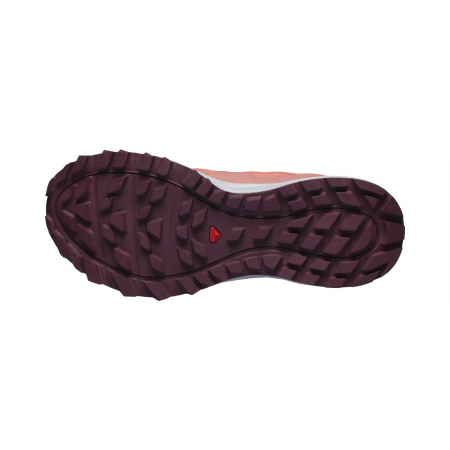 Pantofi alergare femei SALOMON TRAILSTER 2 GTX W caramiziu [5]