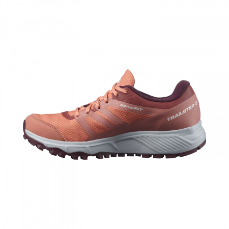 Pantofi alergare femei SALOMON TRAILSTER 2 GTX W caramiziu [6]
