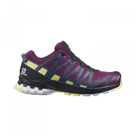 Pantofi alergare femei SALOMON XA PRO 3D v8 GTX W mov [0]
