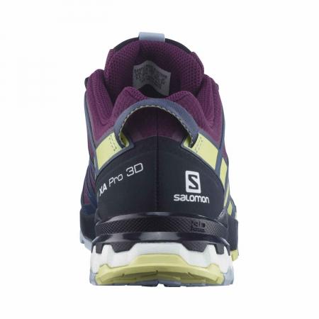 Pantofi alergare femei SALOMON XA PRO 3D v8 GTX W mov [6]