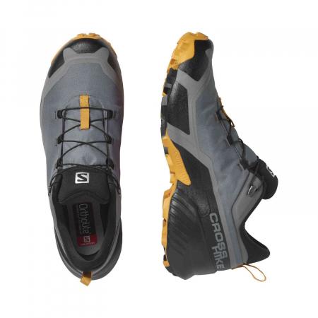 Pantofi drumetie barbati SALOMON CROSS HIKE GTX gri [4]