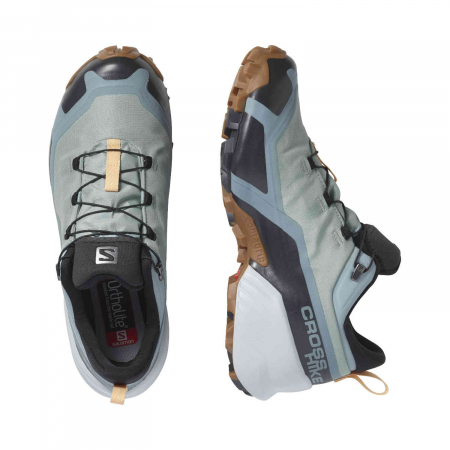 Pantofi drumetie femei SALOMON CROSS HIKE GTX W vernil [5]