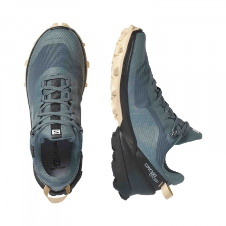 Pantofi drumetie femei SALOMON CROSS OVER GTX W gri [4]