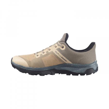 Pantofi drumetie femei SALOMON OUTline Prism GTX W bej [6]