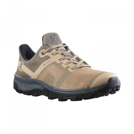 Pantofi drumetie femei SALOMON OUTline Prism GTX W bej [1]