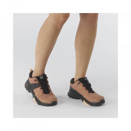 Pantofi drumetie femei SALOMON X ULTRA 4 GTX W maro [2]