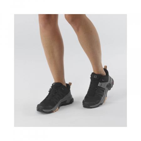 Pantofi drumetie femei SALOMON X ULTRA 4 W negru [2]