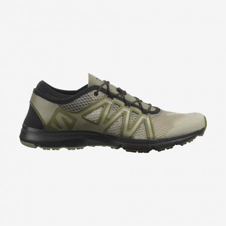 Pantofi outdoor barbati SALOMON Crossamphibian Swift2 oliv [0]