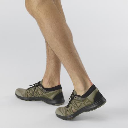 Pantofi outdoor barbati SALOMON Crossamphibian Swift2 oliv [5]