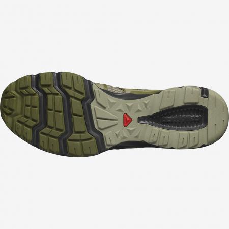 Pantofi outdoor barbati SALOMON Crossamphibian Swift2 oliv [3]