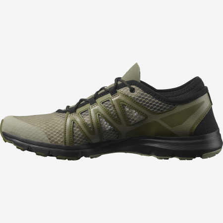 Pantofi outdoor barbati SALOMON Crossamphibian Swift2 oliv [4]