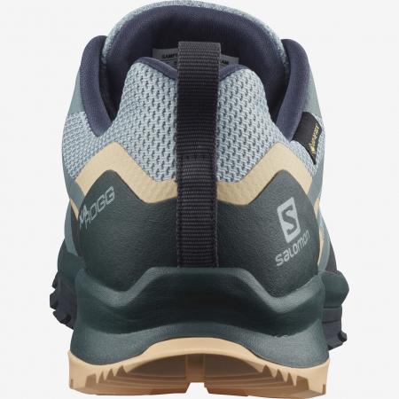 Pantofi outdoor femei SALOMON XA ROGG GTX gri [2]