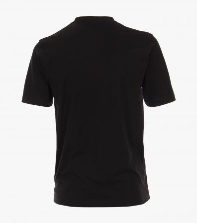 Tricou bumbac anchior barbati CASA MODA negru - set 2 bucati [1]