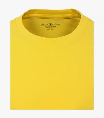 Tricou bumbac barbati CASA MODA galben [1]